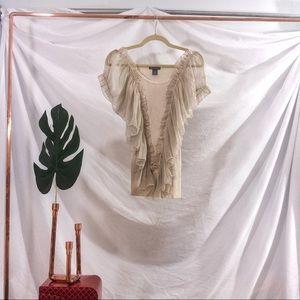 Isabella Rodriguez Cotton Woven Sweater-Shirt